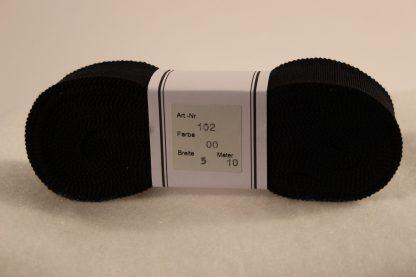 Ripsband zwart
